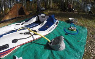 Достоинства и недостатки ножного насоса для лодки