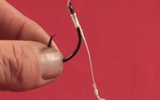 Надежные рыболовные узлы — 2 лучших способа привязать крючок к леске