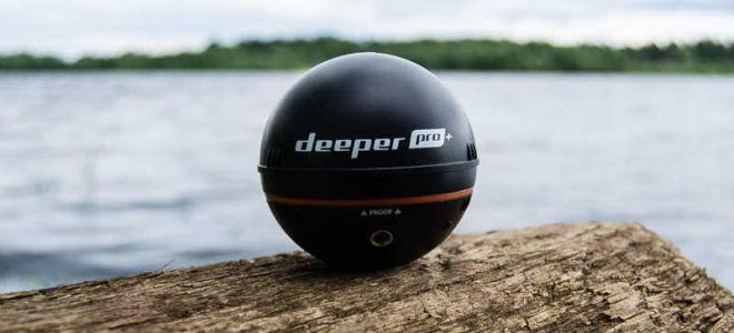 Беспроводные эхолоты Deeper Smart Sonar Pro+, Pro и 3.0 — поиск рыбы и создание карт водоема