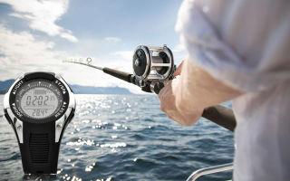 Обзор наручных часов для рыбака