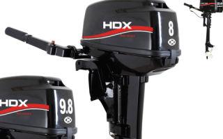 Обзор китайских лодочных моторов HDX