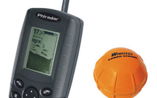 Беспроводной портативный эхолот Fish Finder FF168W