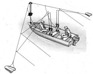 Принцип работы кораблика (планера) для троллинга