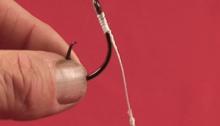 Рыболовные узлы для привязывания крючков