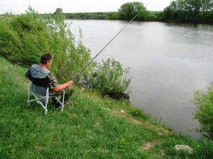 Рыбалка маховой удочкой