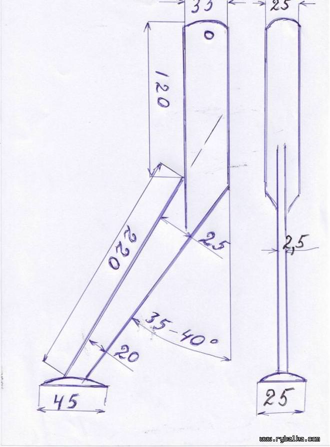 Схема крупного квока №3