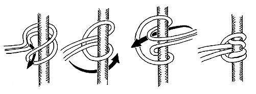 Схватывающий соединительный узел