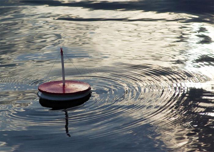 жерлица на малых реках летом
