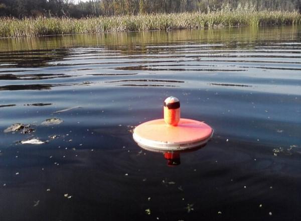 Ловля кружками на небольших водоемах