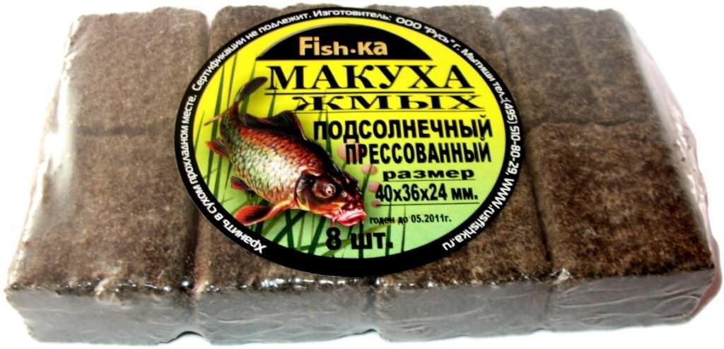 производство макухи для рыбалки