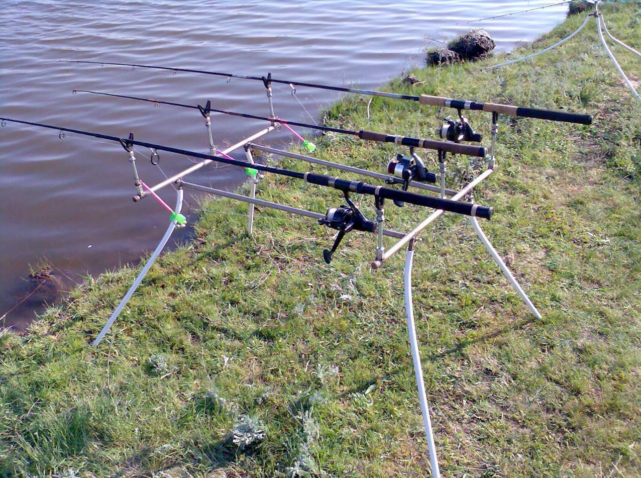 Подставки рыболовные своими руками 17
