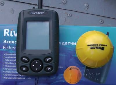 Rivotek Fisher 30 Wireless sonar