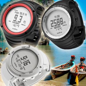 Часы для рыбака Glacier Gray, Alu Pure White и Lava Red