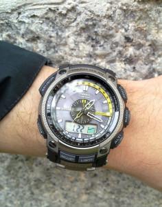 Барометр-часы
