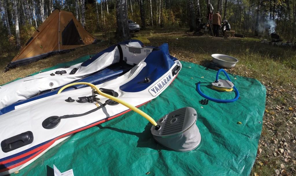 защита для резиновой лодки