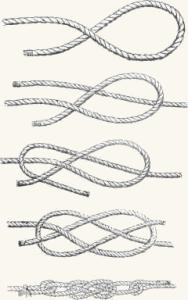 Плоский морской узел