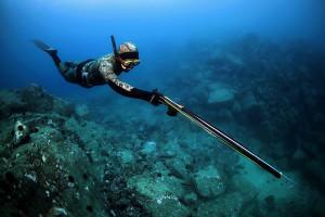 Подводная охота на рыб
