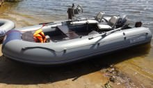 ПВХ лодка Флагман