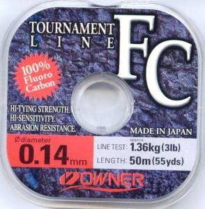 Флюрокарбоновая леска Owner Tournament Line