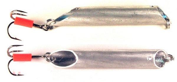 Самодельная блесна из металлической трубки