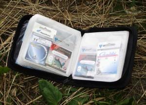 Хранение крючков в специальной сумочке