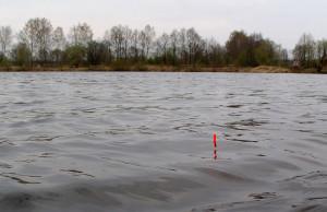 Правильно огруженный поплавок