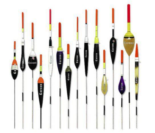 Поплавки для рыбалки разной формы