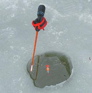 Зимняя поплавочная снасть