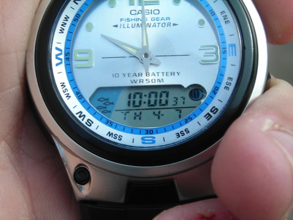 Часы для рыбака