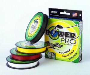 Плетенка Power Pro считают одной из самых прочных.