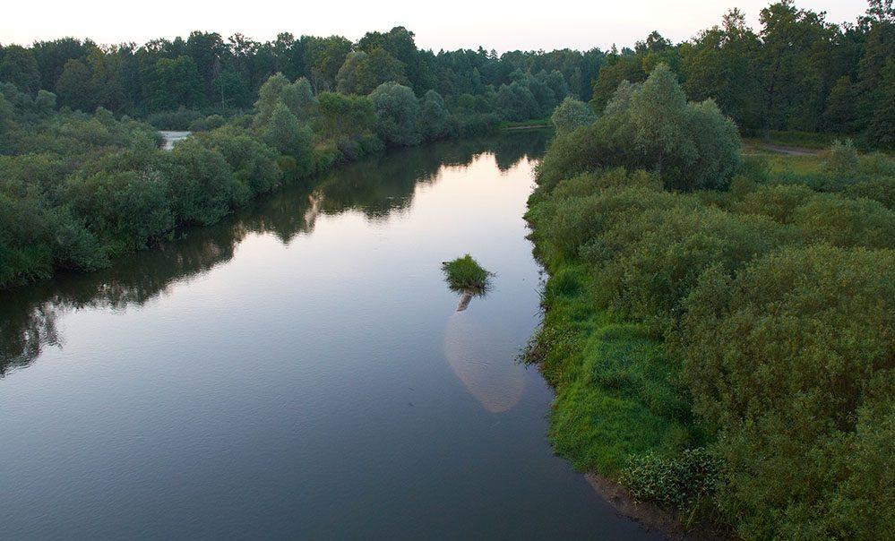 Река Припять в Беларуси