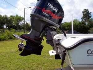 Гидрокрыло на лодочном моторе