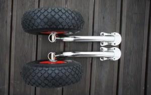 Поворотно-откидные колеса